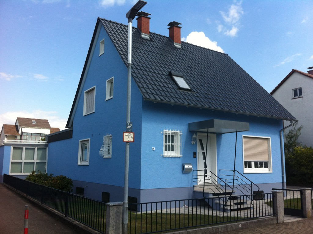 Fassade Malerbetrieb Schwarz